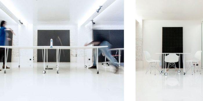 salle jeux architecture renovés