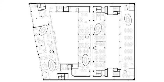 plan bureaux apres renovation