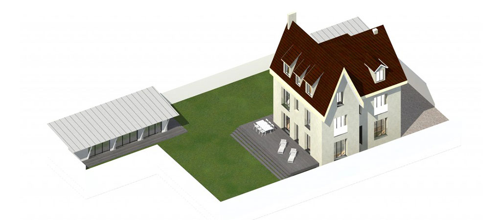 renovation plan 3D maison