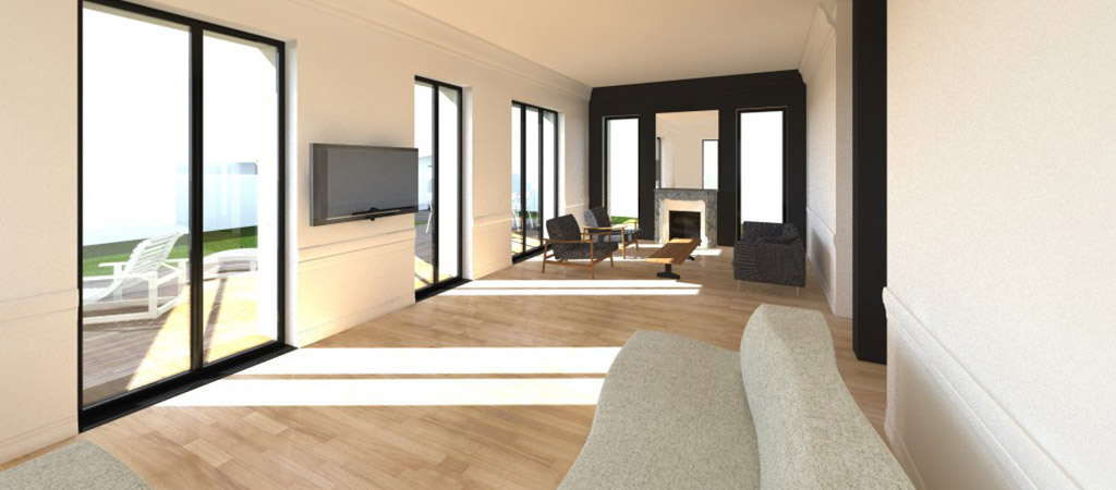 interieur plan 3D renovation