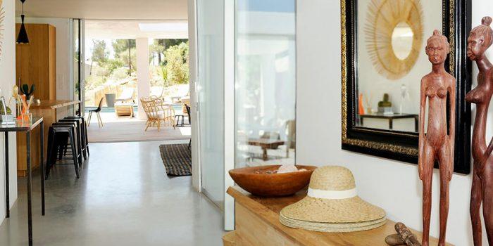 entree maison vacances architecture