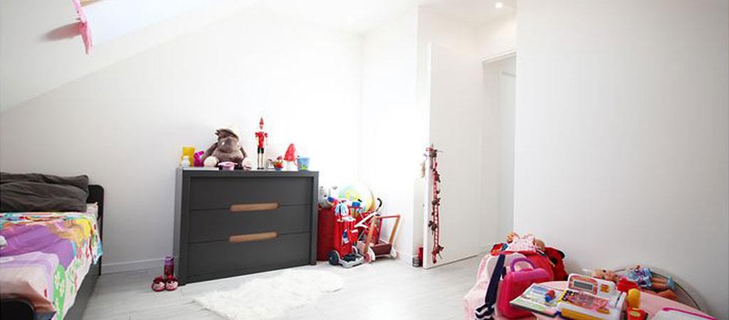 chambre enfant comble appartement