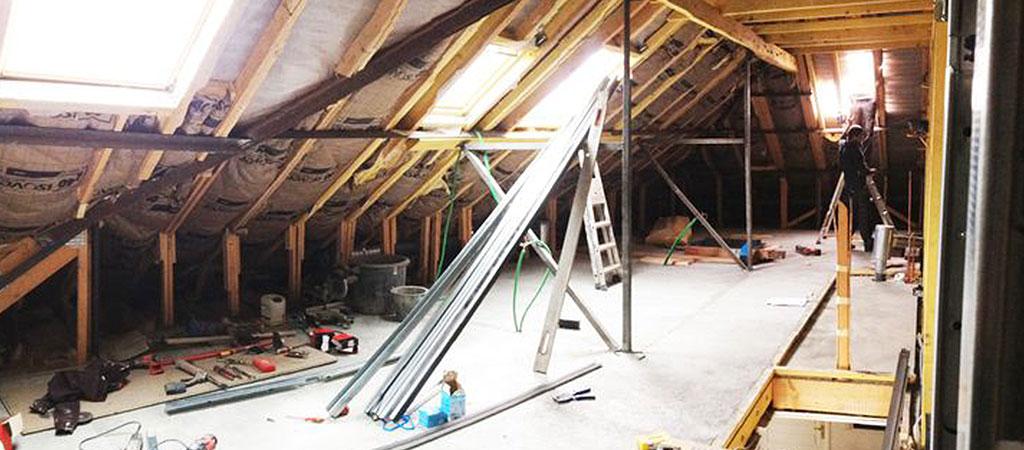 travaux renovation combles architecte