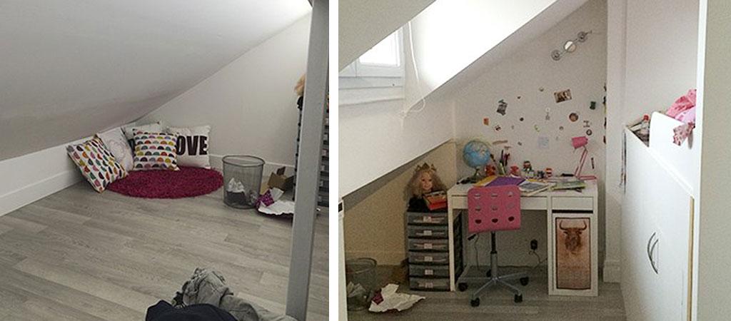 chambre enfant combles appartement