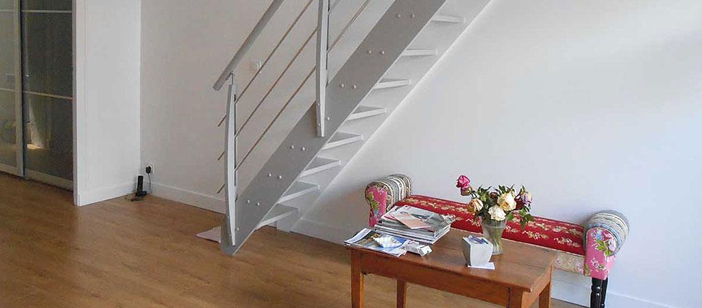 escalier maison architecte combles