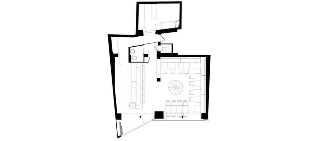 plan amenagement restaurant architecte