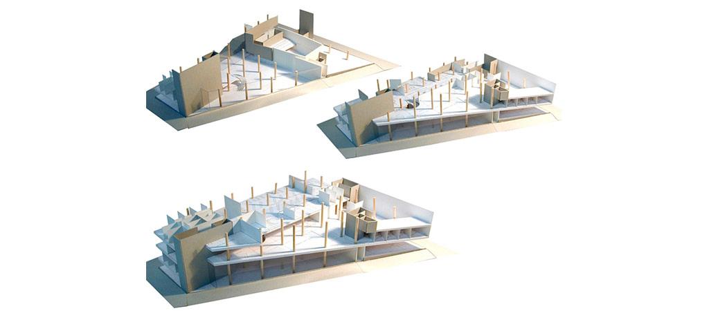 maquette concours complexe architecture