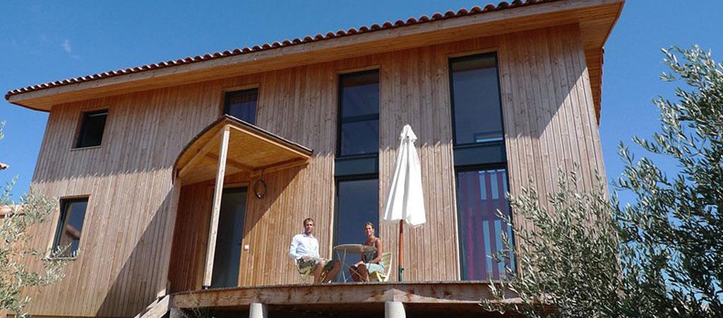 architecture maison ossature bois