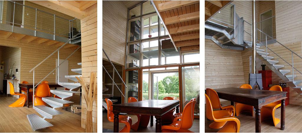 interieur maison etonnante architecte
