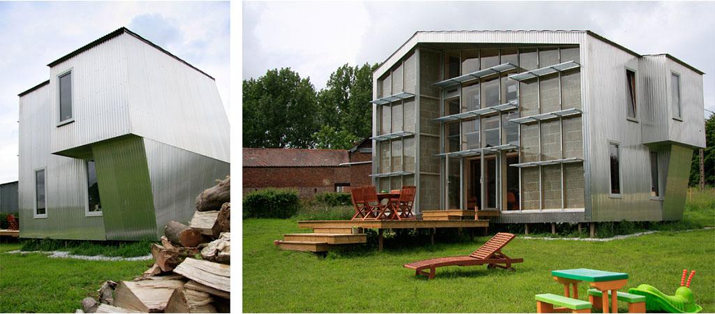 maison taule originale architecte