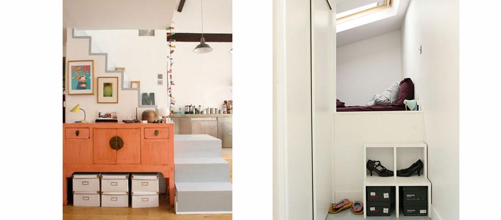architecture chambre combles appartement