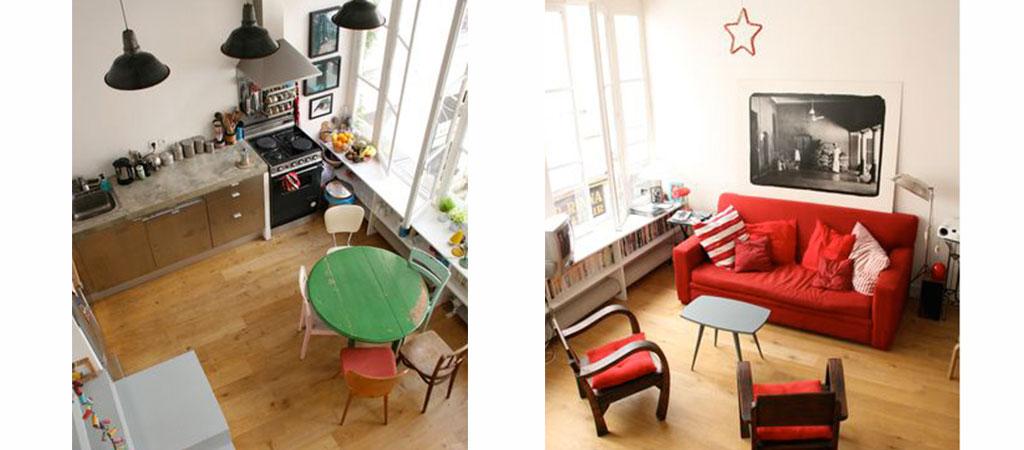 sejour mezzanine combles architecture