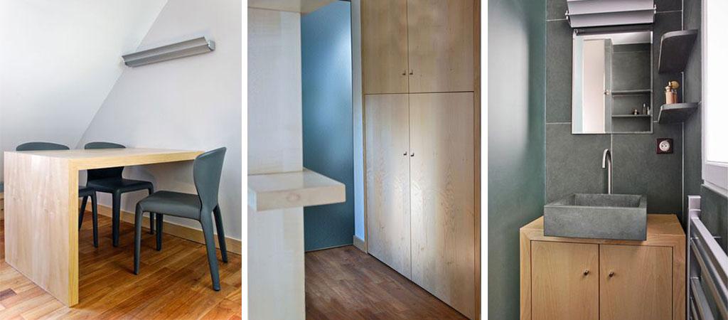 renovation combles appartement architecte