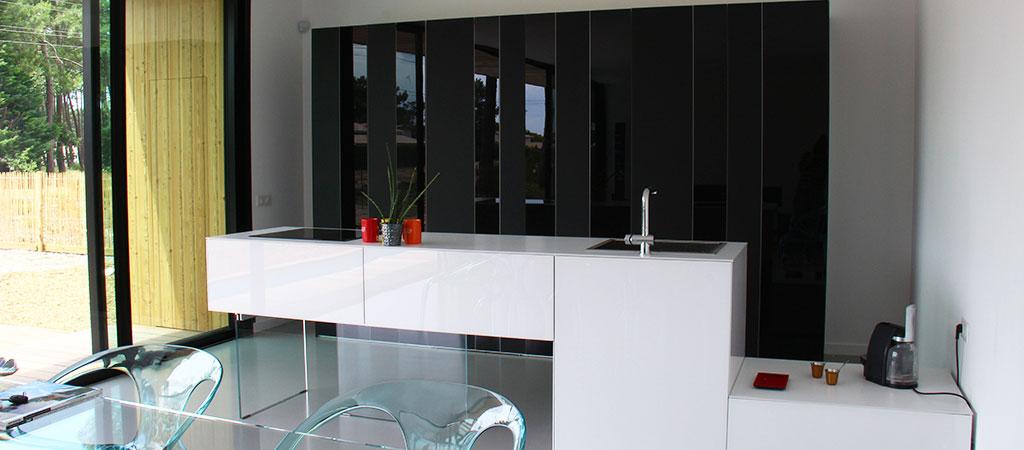 cuisine ouverte moderne architecte