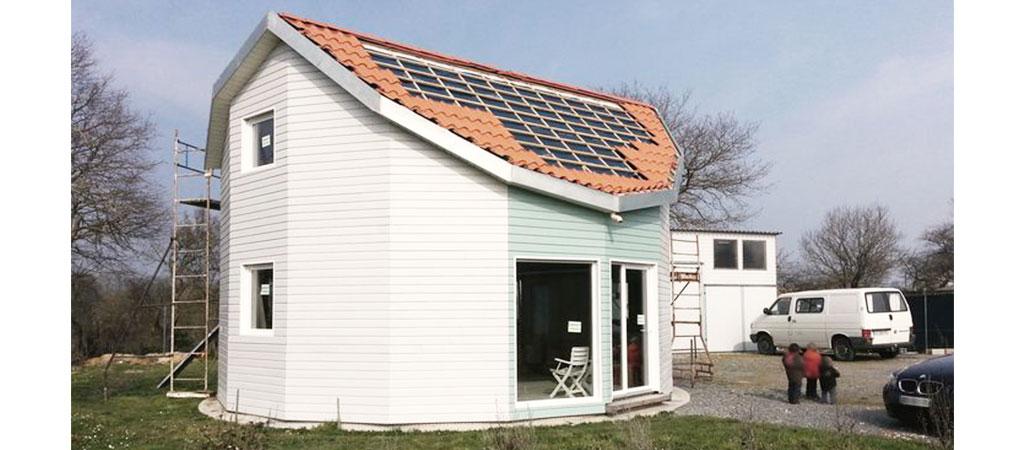architecture maison ecologique bois
