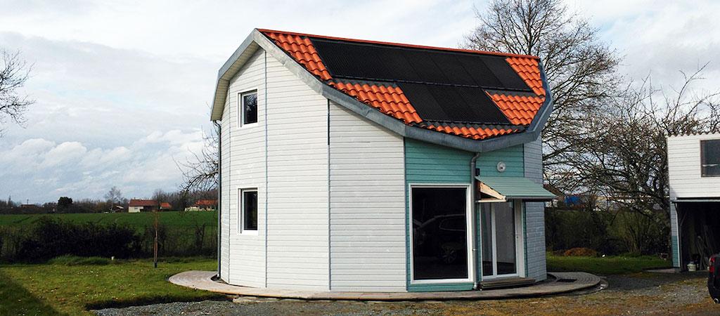 maison architecte pivotante ecologique