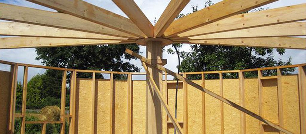 charpente maison architecte bois