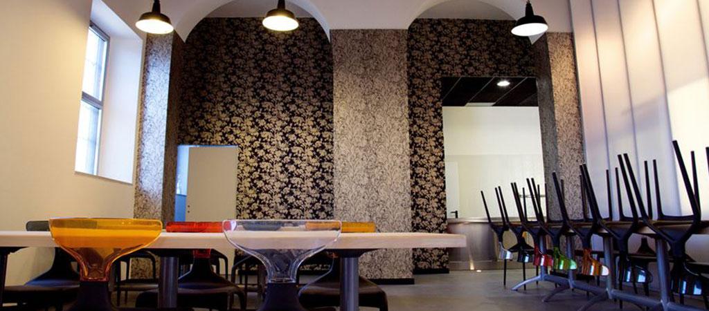 restaurant entreprise coloré architecte