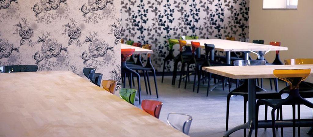 restaurant entreprise baroque architecte