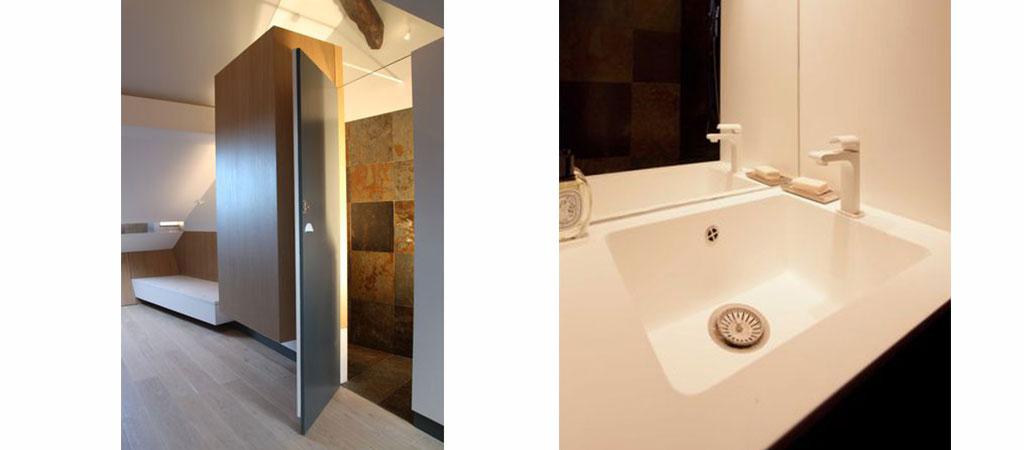 architecture salle d'eau combles