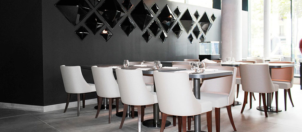 amenagement restaurant moderne architecte