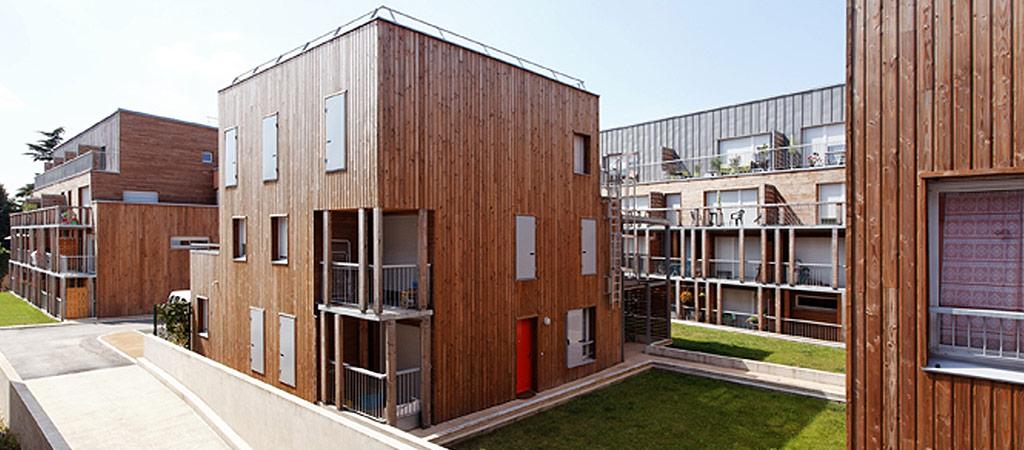 logements bois architecte