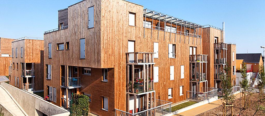 construction logement sociaux architecte