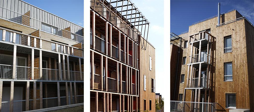 logement sociaux bois architecture