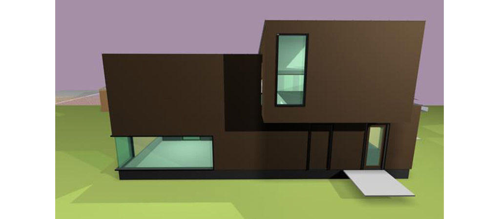 3D projet maison architecte