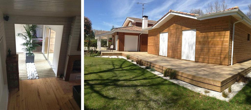 maison chalet bois architecte