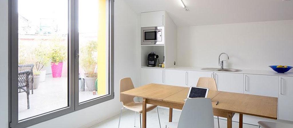 cuisine ouverte architecture maison