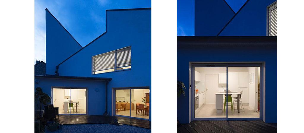 facade maison atypique architecte