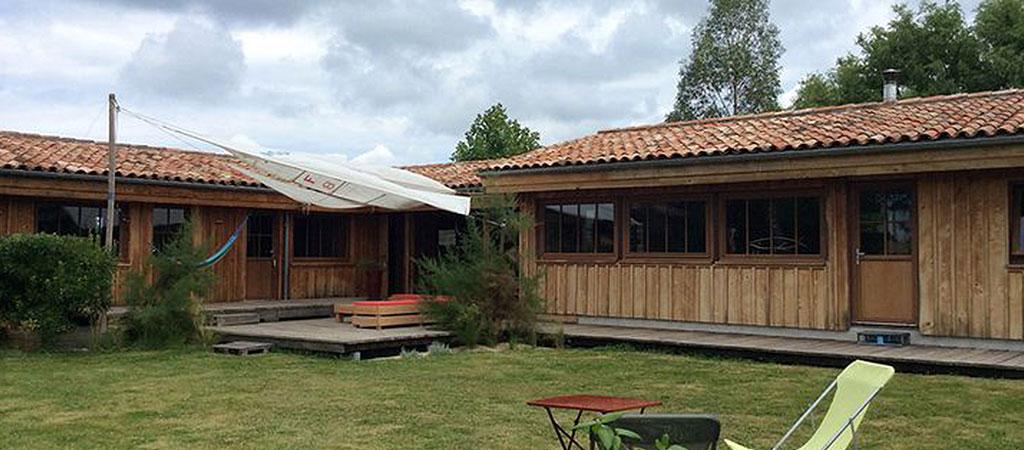 construction maison vacances bois
