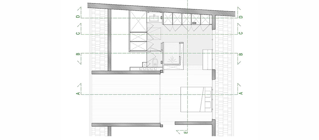 plan amenagement combles architecte