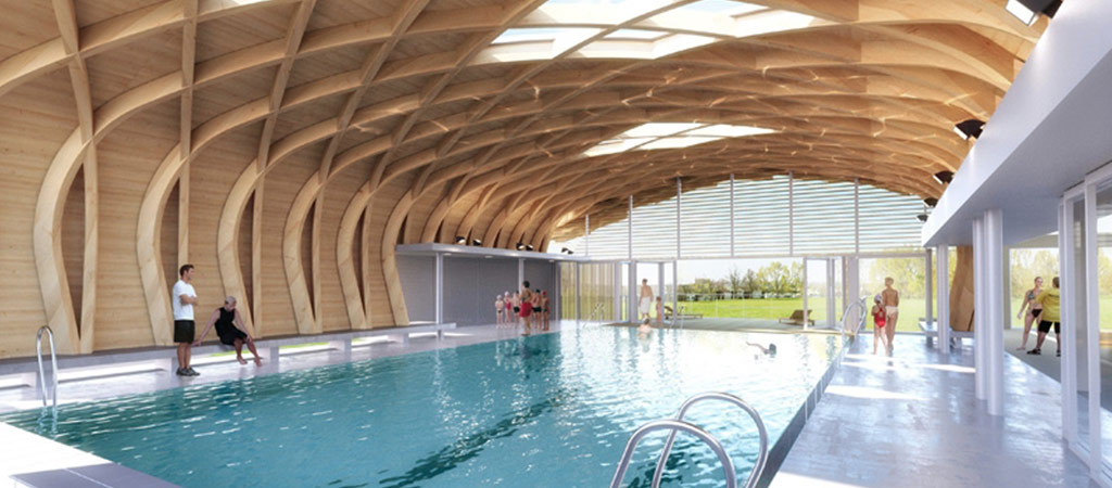 concours extension piscine architecte