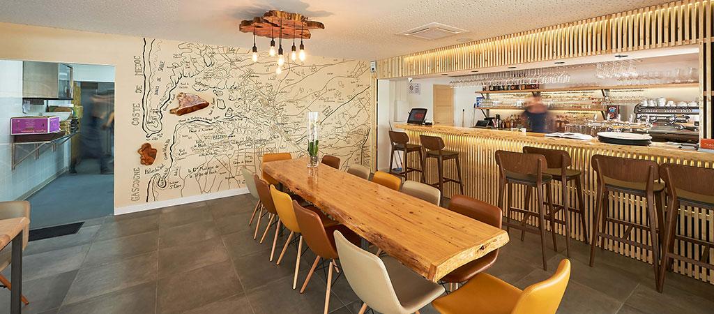 architecture salle restaurant pierre