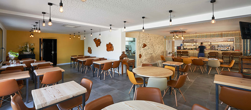amenagement restaurant architecte salle