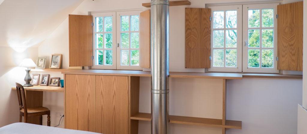 chambre parentale renovation architecte