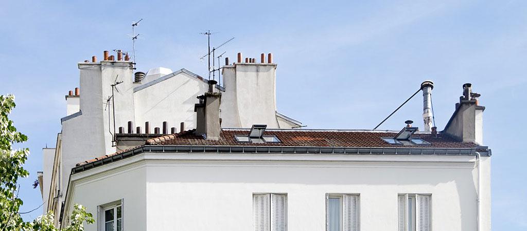 appartement combles architecte paris