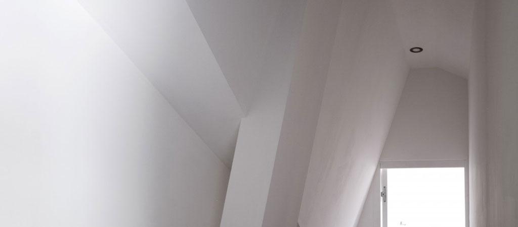 detail combles architecture appartement