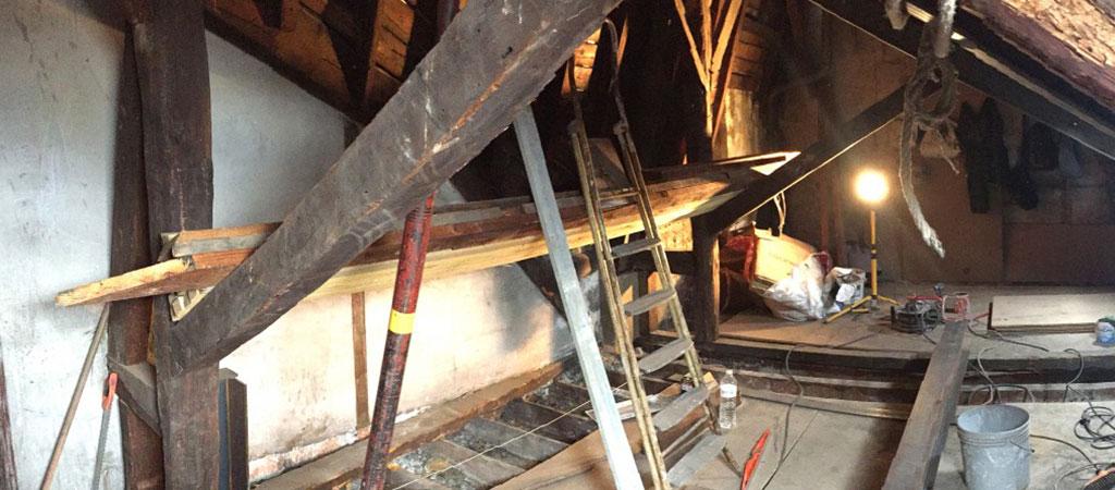 travaux renovation combles paris