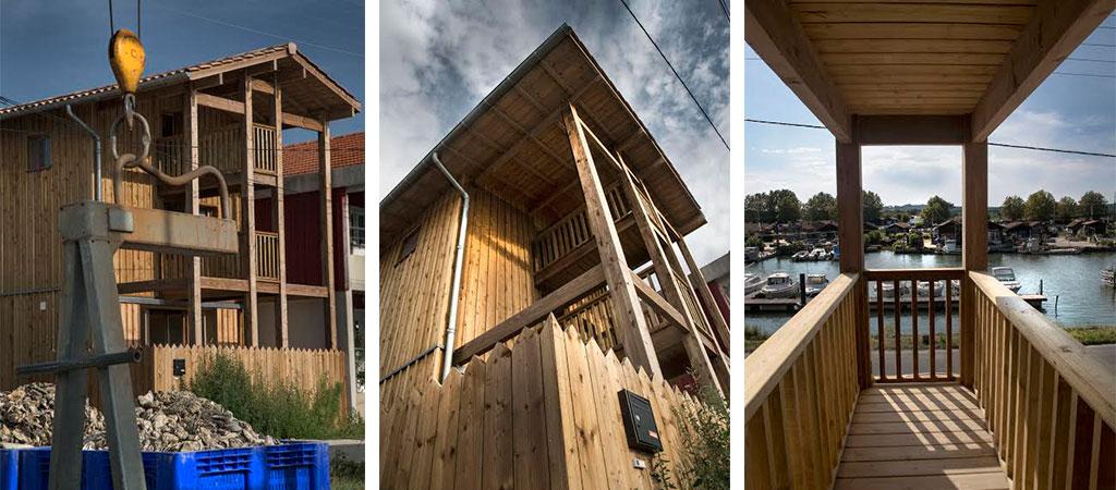 maison port bois architecte