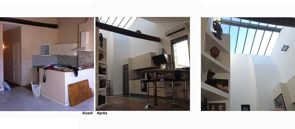 renovation appartement architecte verriere