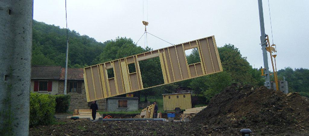 travaux architecte maison bois