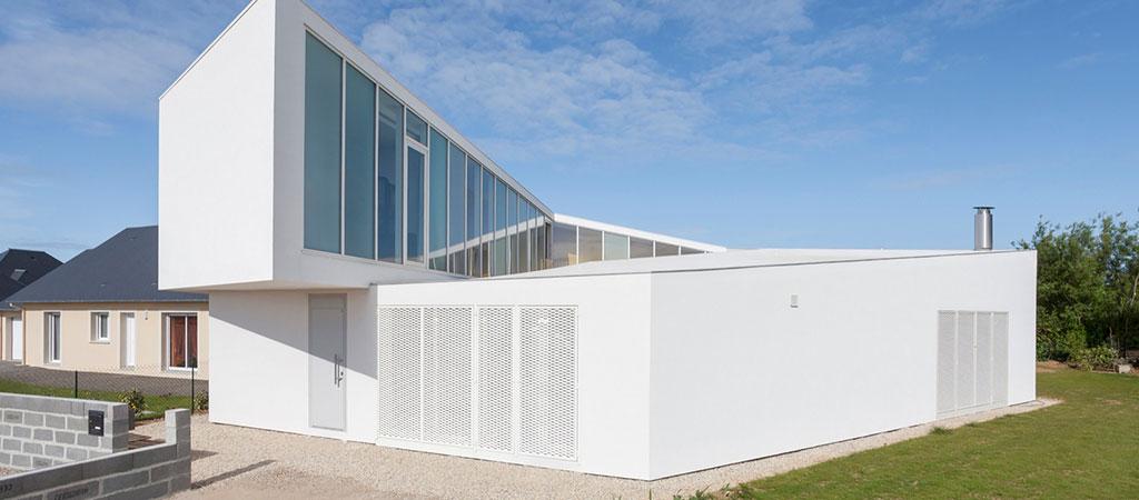 facade maison spirale architecte