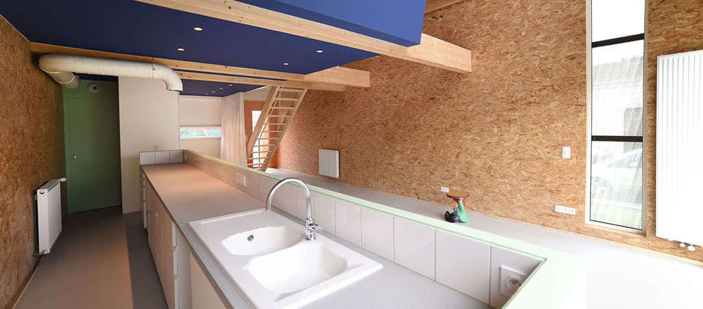 cuisine ouverte maison architecte