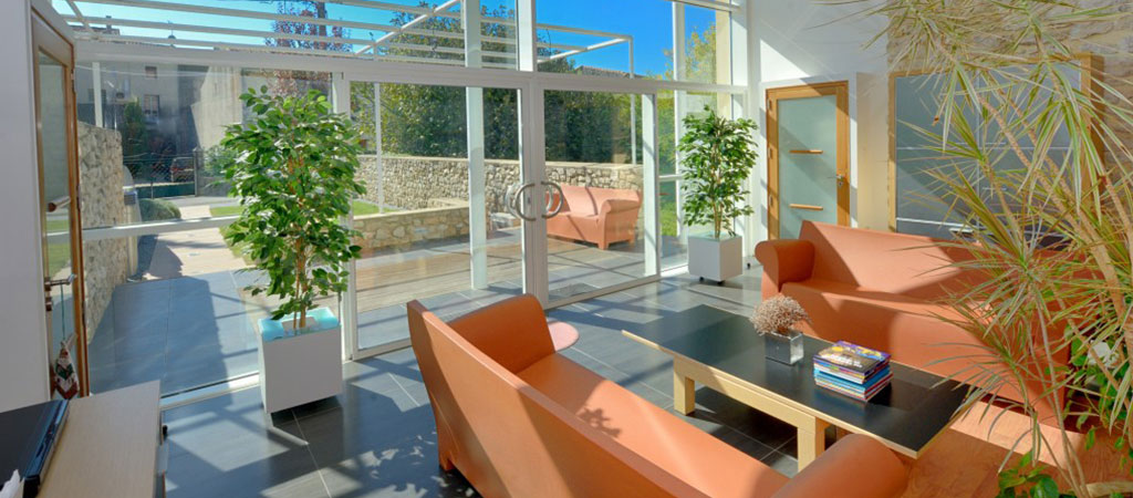 salon lumineux vitre architecte