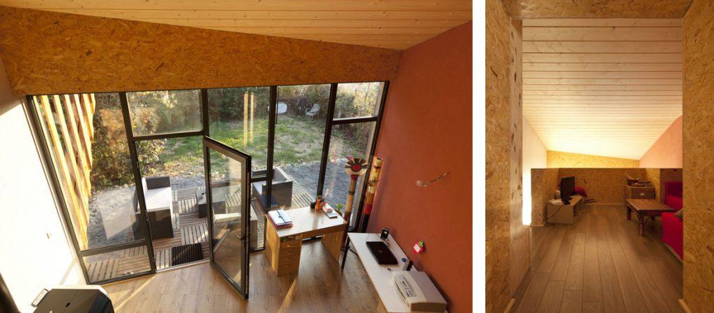 extension bois lumière architecte