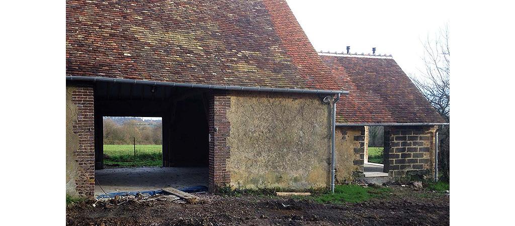 ancienne ferme réhabilitée maison