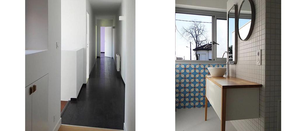 salle eau extension architecte